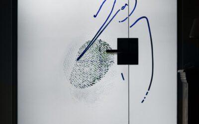 Storchennest |Glastür im Privathaus