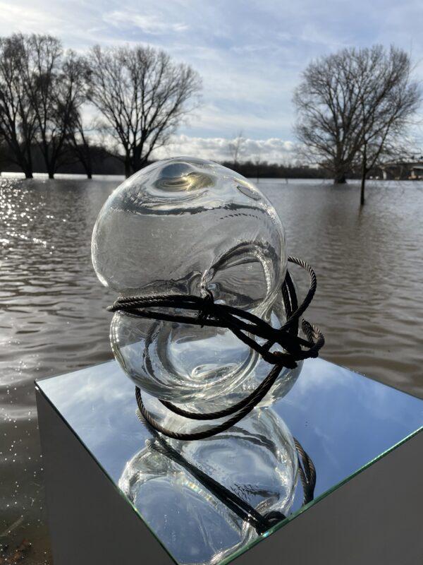 Befreiung V Glasskulptur Nabo Gaß