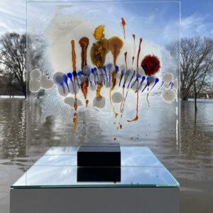 Emotional Landscape VII stained glass Nabo Gaß