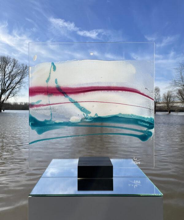 Emotional Landscape I Glasmalerei Nabo Gaß