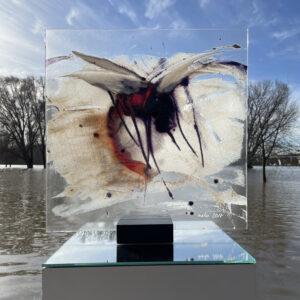 Stichvieh Glasmalerei Nabo Gaß