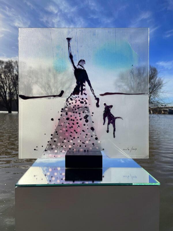Unterwegs Glasmalerei Nabo Gaß