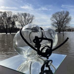 Befreiung IV Glasskulptur Nabo Gaß