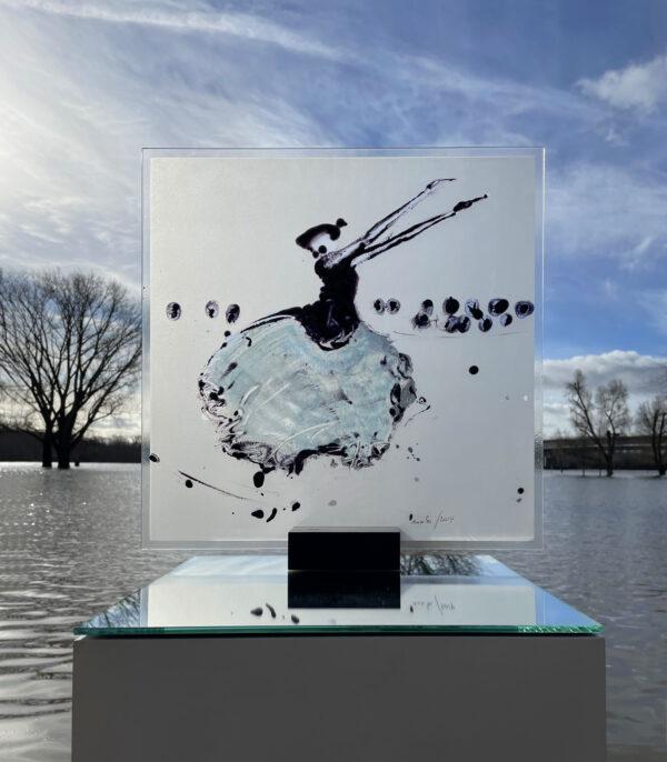 Totentanz Glasmalerei Nabo Gaß