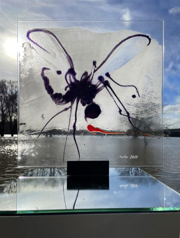 Bloody Mary II Glasmalerei Nabo Gaß
