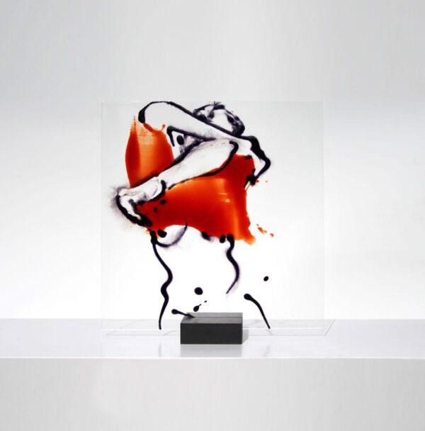 Pull over VII Glasmalerei Nabo Gaß